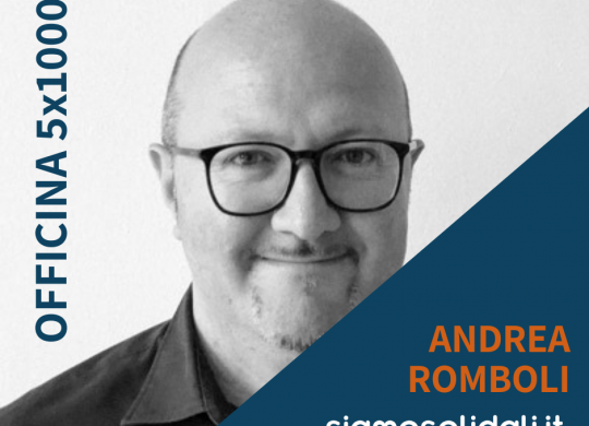 ANDREA ROMBOLI OFFICINA 5X1000
